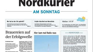 Das Neueste vom Wochenende in Ihrer Sonntags-Zeitung