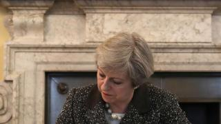 Theresa May startet den Brexit