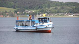 """Forelle"" sticht erstmals in Kummerower See"