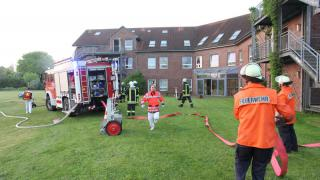 Ein Toter bei Brand in Jarmener Therapiezentrum