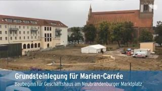Video: Baubeginn am Neubrandenburger Marktplatz