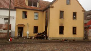 Explosion in Tantower Mehrfamilienhaus