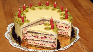 Himbeer-Lucullcreme-Torte