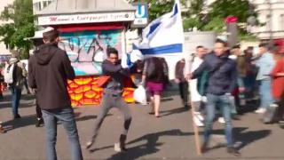 Juden-Demo in Berlin attackiert