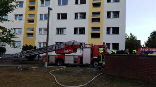 Haus in Neustrelitz evakuiert (mit Video)
