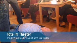 Tote im Theater Neustrelitz (Video)