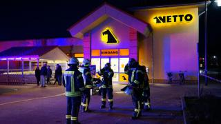 Netto in Friedland evakuiert