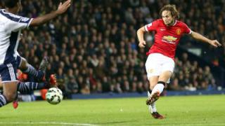 Blinds Treffer rettet ManUnited Remis bei West Bromwich