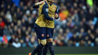 Arsenal nach 2:0 in Bournemouth Dritter - Özil trifft