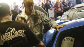 Justin Biebers Ferrari versteigert