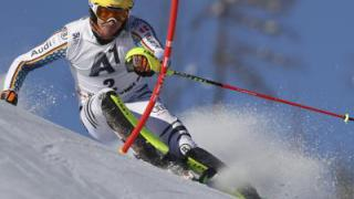 Neureuther auf Slalom-Podiumskurs in Kitzbühel