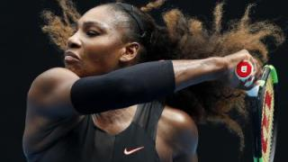 Serena Williams im Australian-Open-Viertelfinale