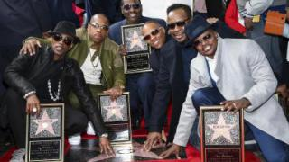 US-Band New Edition bekommt Hollywood-Stern
