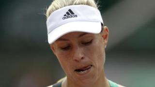 Indiskutable Kerber scheitert bei French Open in Runde eins