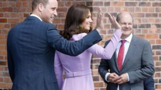 William und Kate im Maritimen Museum in Hamburg