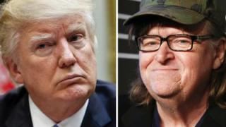 Michael Moore am Broadway mit Anti-Trump-Satire