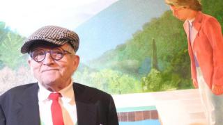 David-Hockney-Retrospektive im Metropolitan Museum