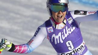 Ski-Star Vonn gewinnt zweite Abfahrt in Cortina