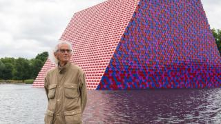 "Christo in London: ""The Mastaba"" schwimmt im Hyde Park"