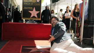Komiker Jack Black enthüllt Hollywood-Stern
