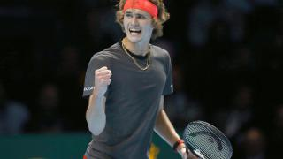Tennisprofi Alexander Zverev gewinnt ATP-WM in London