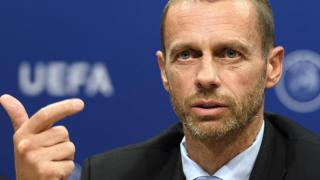 "UEFA-Präsident Ceferin: Super League ist ""Fiktion"""