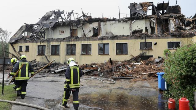 Brand In Wustrow