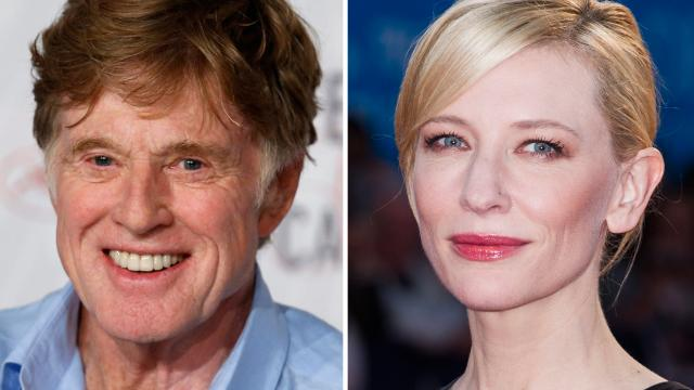 "Kritiker favorisieren Robert Redford für seine Rolle in ""All is Lost"", Cate Blanchett hängte die Konkurrenz mit ihrer Rolle in ""Blue Jasmine"" ab."