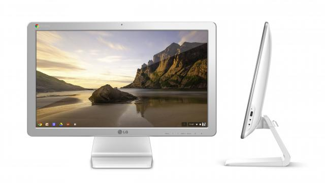 All-in-One-PC mit Google-Software.