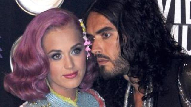Katy Perry: Laufpass von Russell Brand per SMS