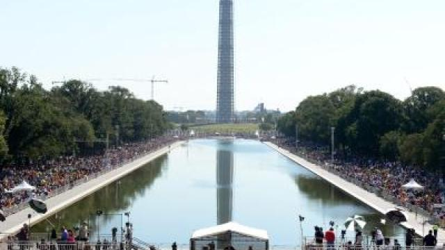 «I have a dream»: Amerikaner erinnern an «Marsch auf Washington»