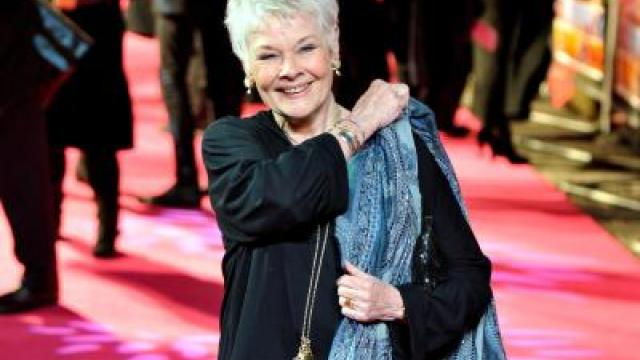 Judi Dench und James Franco beim Filmfest in Venedig