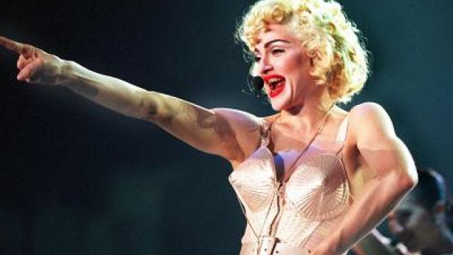 Madonnas knappe Outfits imMuseum