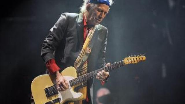 Keith Richards wird 70