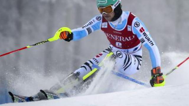 Neureuther Dritter bei Slalom in Levi - Dopfer Sechster