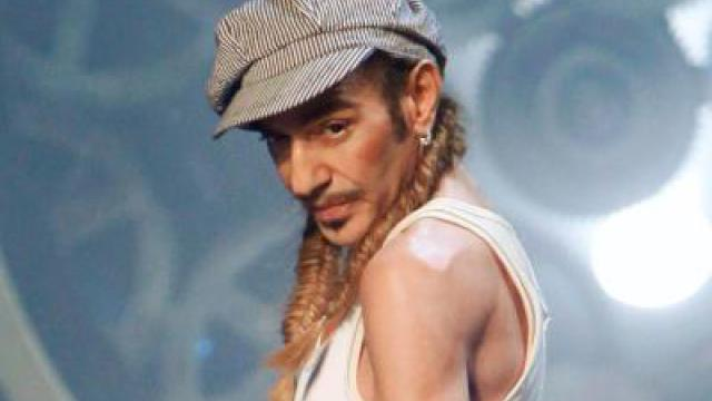 John Galliano feiert Comeback in London