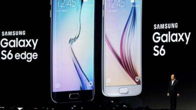 Samsung kontert iPhone 6 mit Flaggschiff-Duo
