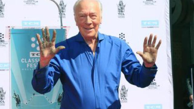 Christopher Plummer hinterlässt Spuren in Hollywood