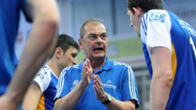 Moculescu will Berlin vom Volleyball-Thron stürzen