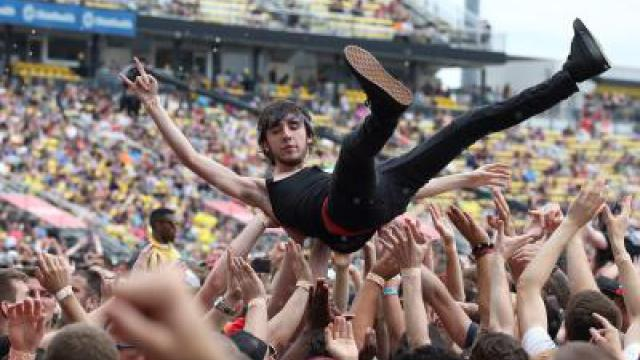 Crowd-Surfing
