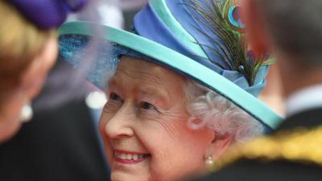 «God Save the Queen» - Frankfurt feiert die Königin