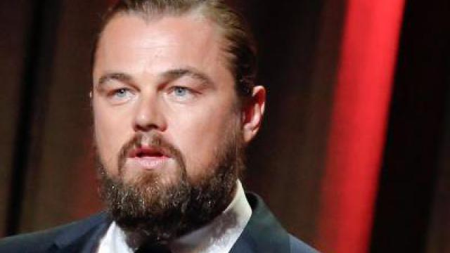 Bärtiger Leonardo DiCaprio in «The Revenant»