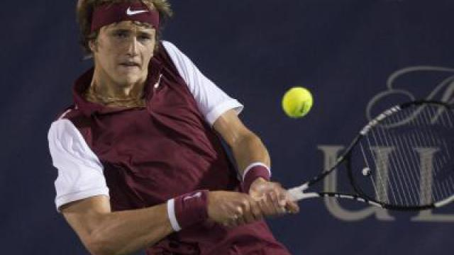 Alexander Zverev in Washington im Viertelfinale