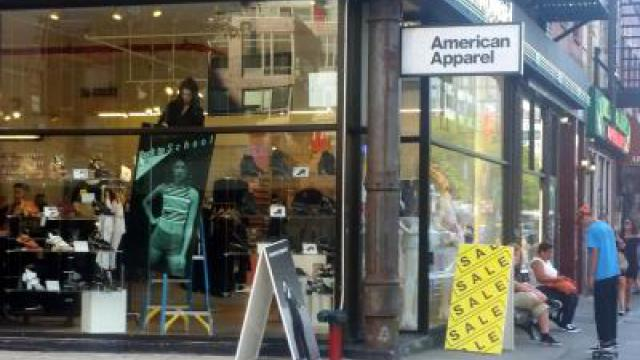 American Apparel meldet Insolvenz an