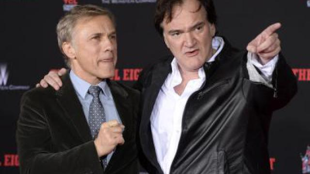 Quentin Tarantino in Hollywood verewigt