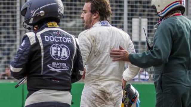 Alonso nach Unfall: «Luckiest man alive»