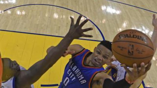 NBA-Playoffs: OKC überrascht Meister Golden State