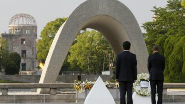 Obama gedenkt Atombomben-Opfer in Hiroshima