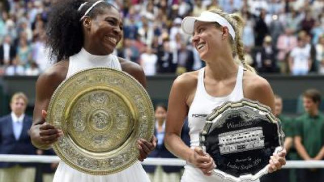 Kerber verpasst Wimbledon-Coup - Williams so gut wie Graf