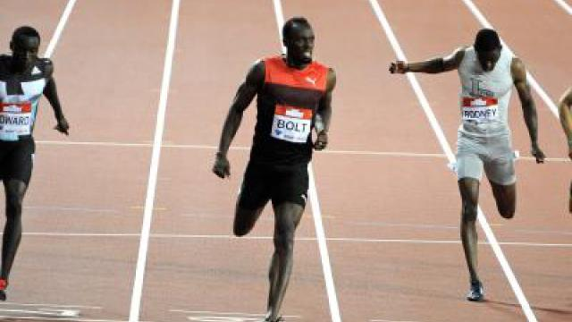Superstar Bolt siegt bei Comeback in London